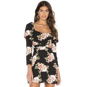 {LIKELY} Brand New Tara Dress in Black Multi